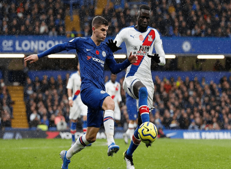 Crystal Palace x Chelsea. Foto adrian Dennys AFP