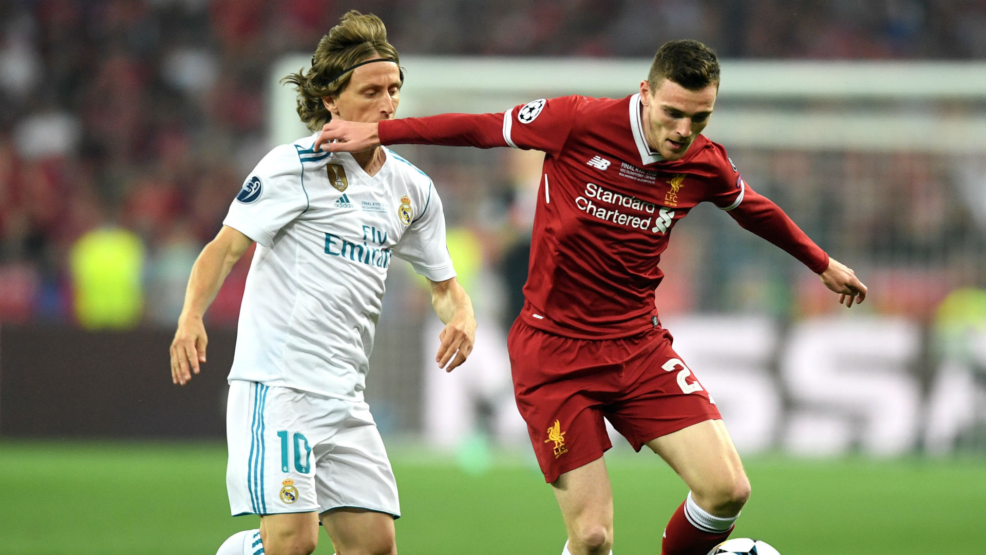 Liverpool x Real Madrid. Imagem: Getty images